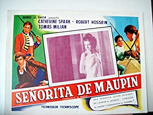 MADAMIGELLA DI MAUPIN/ 117079/ CATHERINE SPAAK/ 1966/
