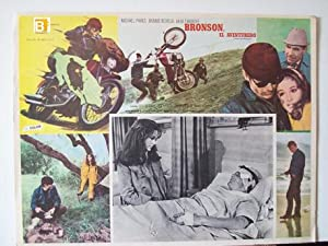 Then Came Bronson MOVIE POSTER/BRONSON, EL AVENTURERO/MEXICAN LOBBY CARD