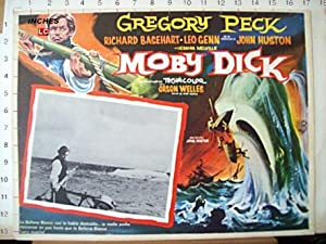 MOBY DICK/ 103078/ GREGORY PECK/ 1956/ JOHN