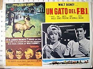 That Darn Cat! MOVIE POSTER/UN GATO DEL