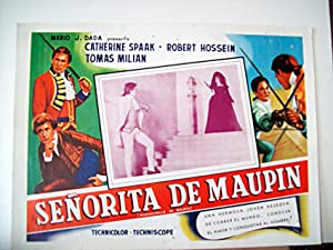 MADAMIGELLA DI MAUPIN/ 117076/ CATHERINE SPAAK/ 1966/