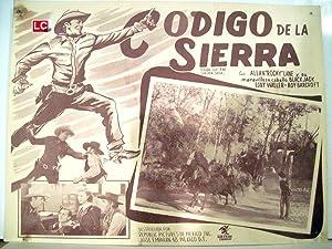 CODE OF THE SILVER SAGE MOVIE POSTER/CODIGO