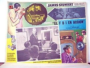 THE FBI STORY MOVIE POSTER/EL FBI EN
