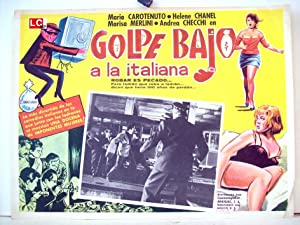 Colpo gobbo all'italiana/ 51871/ MARIO CAROTENUTO/ 1962/