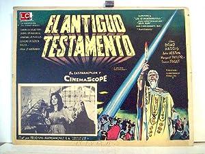 MACABEOS, LOS MOVIE POSTER/EL ANTIGUO TESTAMENTO/MEXICAN LOBBY