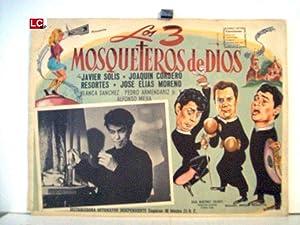 LOS 3 MOSQUETEROS DE DIOS/ 65304/ JAVIER