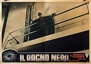 THE SPIDER?S WEBB MOVIE POSTER/IL RAGNO NERO/FOTOBUSTA