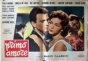 PRIMO AMORE/ 87766/ CARLA GRAVINA/ 1958/ MARIO