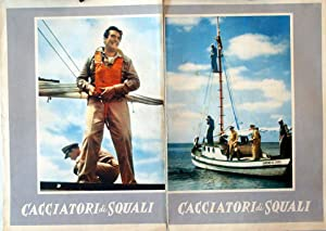 THE SHARKFIGHTERS MOVIE POSTER/CACCIATORI DI SQUALI/FOTOBUSTA