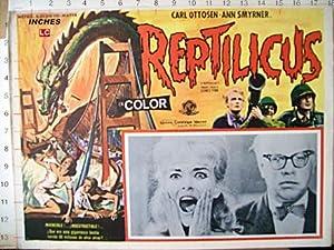 REPTILICUS MOVIE POSTER/REPTILICUS/MEXICAN LOBBY CARD