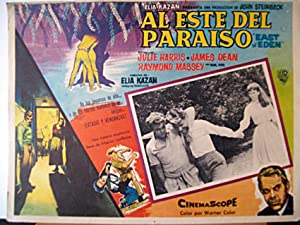 EAST OF EDEN MOVIE POSTER/AL DEL PARAISO/MEXICAN LOBBY CARD