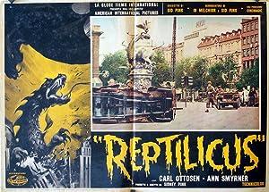 REPTILICUS MOVIE POSTER/REPTILICUS/FOTOBUSTA
