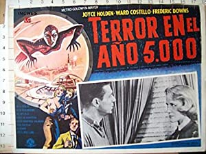 Terror from the Year 5000 MOVIE POSTER/TERROR EN EL AÑO 5000/MEXICAN LOBBY CARD