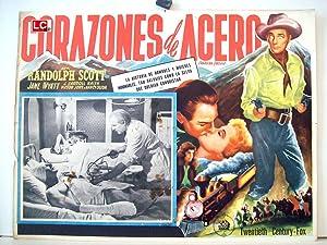 CANADIAN PACIFIC MOVIE POSTER/CORAZONES DE ACERO/MEXICAN LOBBY