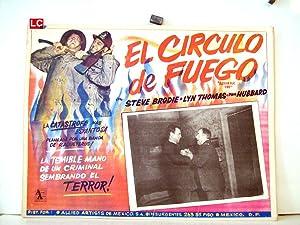 ARSON FOR FIRE MOVIE POSTER/EL CIRCULO DE