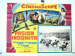 UNTAMED MOVIE POSTER/PASION INDOMITA/MEXICAN LOBBY CARD