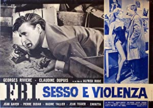 VISA POUR L?ENFER MOVIE POSTER/FBI SESSO E