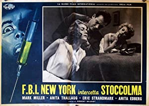 BLONDIN I FARA MOVIE POSTER/FBI NEW YORK