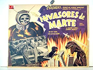 Robot MonsterPhil Tucker MOVIE POSTER/Robot Monster/MEXICAN LOBBY CARD