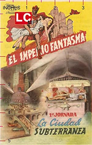 The Phantom Empire MOVIE POSTER/EL IMPERIO FANTASMA/HERALD