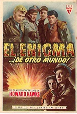 The Thing from Another World MOVIE POSTER/EL ENIGMA DE OTRO MUNDO/HERALD