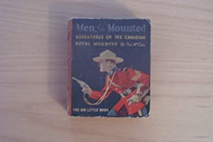 Men of The Mounted - Big Little Book Cocomalt promotion