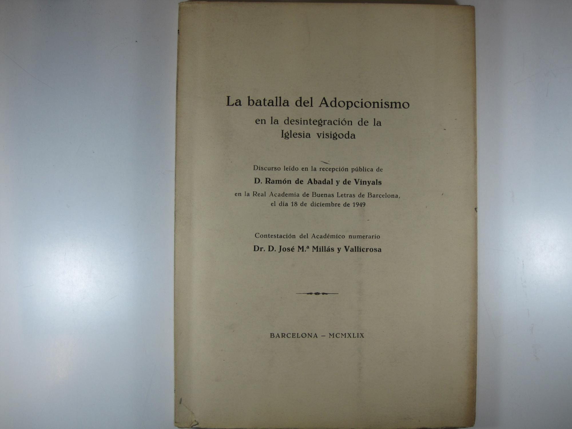 Resultado de imagen de la batalla del adopcionismo 1949