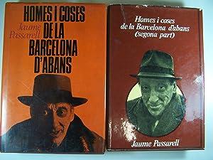HOMES I COSES DE LA BARCELONA D'ABANS: PASSARELL, JAUME