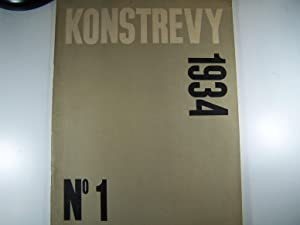 FORM: KONSTREVY 1934, Nº 1: RYDBECK, INGRID