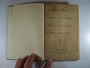 HISTORIA DE LOS LUGARES, VILLAS Y CIUDADES: GRAS ELIAS, FRANCISCO