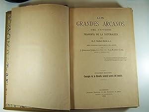 LOS GRANDES ARCANOS DEL UNIVERSO. FILOSOFÍA DE: P. TILMAN PESCH