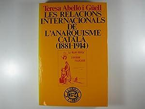 LES RELACIONS INTERNACIONALS DE L'ANARQUISME CATALÀ. 1881-1914: TERESA ABELLÓ I