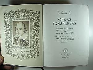 OBRAS COMPLETAS DE WILLIAM SHAKESPEARE: SHAKESPEARE, WILLIAM