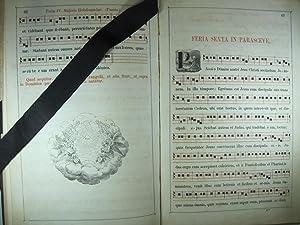 CANTUS ECCLESIASTICUS SACRAE HISTORIAE PASSIONIS DOMINI NOSTRI