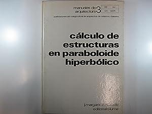 MANUALES DE ARQUITECTURA.: CÁLCULO DE ESTRUCTURAS EN: MARGARIT, J. -