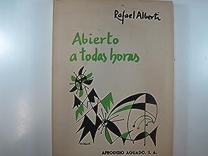 ABIERTO A TODAS HORAS 1960-1963: ALBERTI, RAFAEL