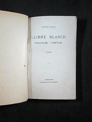 LLIBRE BLANCH: POLICROMI - TRIPTIC: CATALA, VICTOR (CATERINA