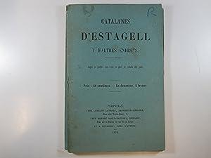 CATALANES D'ESTAGELL Y D'ALTRES ENDRETS.