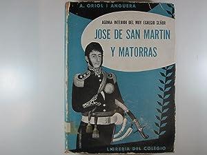 AGONIA INTERIOR DEL MUY EGREGIO SEÑOR JOSE DE SAN MARTIN Y MATORRAS: ORIOL ANGUERA, A.