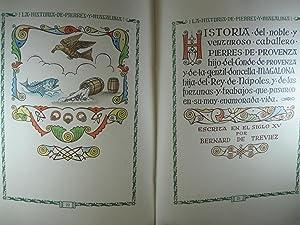 HISTORIA DEL NOBLE Y VENTUROSO CABALLERO PIERRES,: VILA, JUAN (D'IVORI),