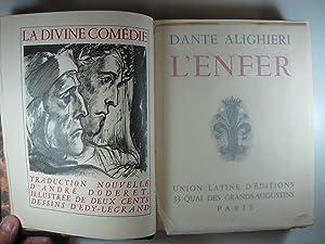 LA DIVINE COMEDIE: L'ENFER - PURGATOIRE -: ALIGHIERI, DANTE