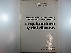 MANUALES DE ARQUITECTURA.: INTRODUCCION A UNA TEORIA: MARGARIT, J. -
