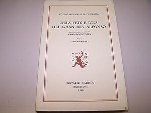 DELS FETS E DITS DEL GRAN REY ALFONSO: BECCADELLI EL PARNOMITA, ANTONIO