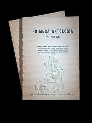 PRIMERA I SEGONA ANTOLOGIA. (1ª 1965-1966-1967.) (2ª: VARIS AUTORS.