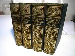 ENCICLOPEDIA COMERCIAL SALVAT 4 Tomos Completa: Varios
