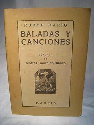 BALADAS Y CANCIONES: DARIO, RUBEN