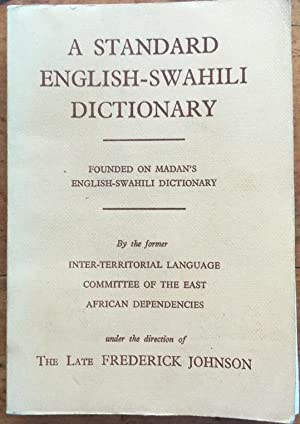 A Standard English-Swahili Dictionary