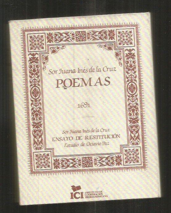 Poemas Edicion Facsimil De La Editada En