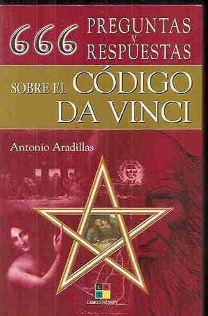 666 PREGUNTAS Y RESPUESTAS SOBRE EL CODIGO DA VINCI: ARADILLAS