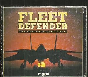 FLEET DEFENDER. THE F-14 TOMCAT SIMULATION. GAMEPLAY: ANONIMO